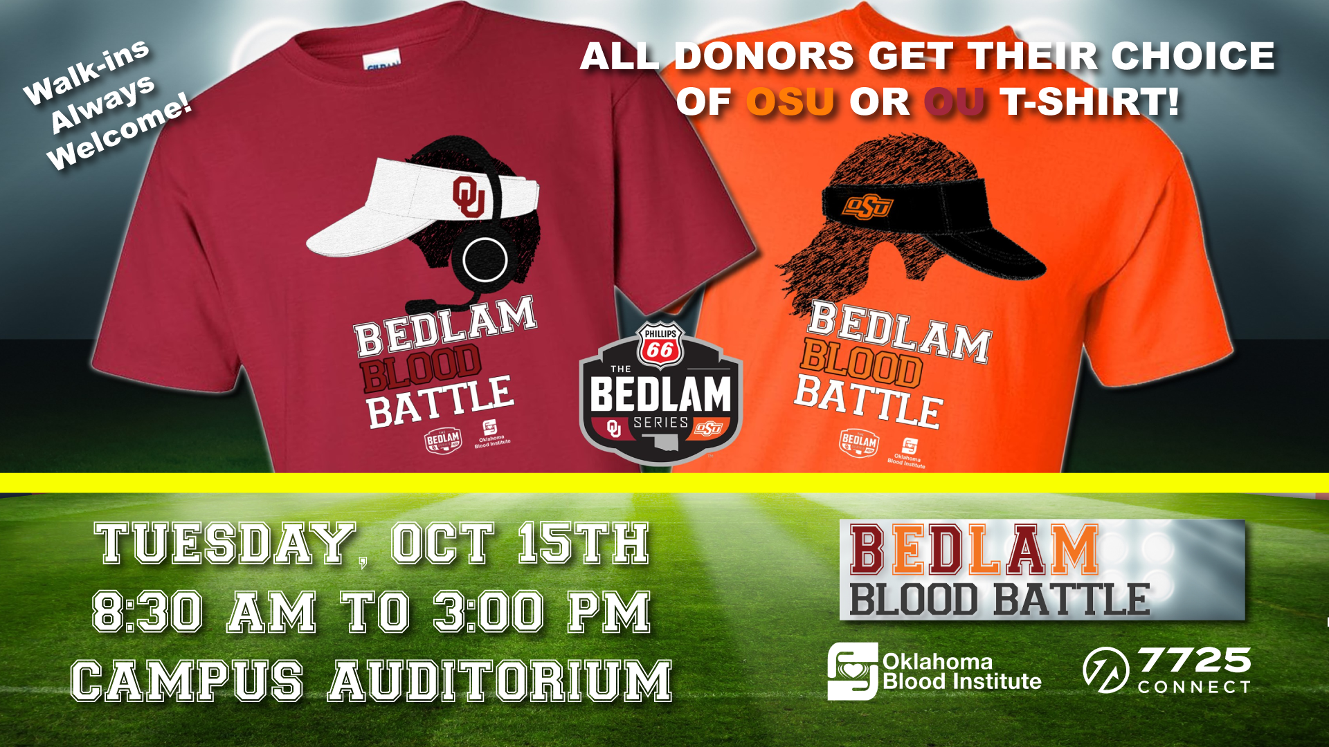 7725 CONNECT Bedlam Blood Drive